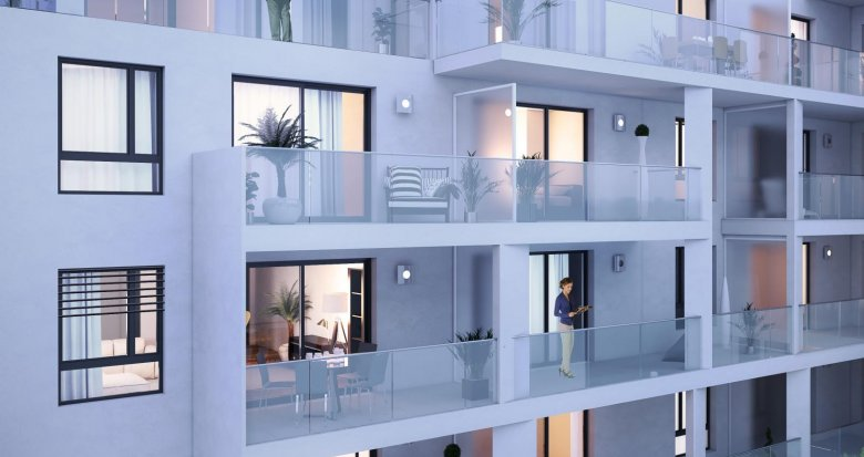 Achat / Vente programme immobilier neuf Lyon 7 proche Parc Sergent Blandan (69007) - Réf. 1838