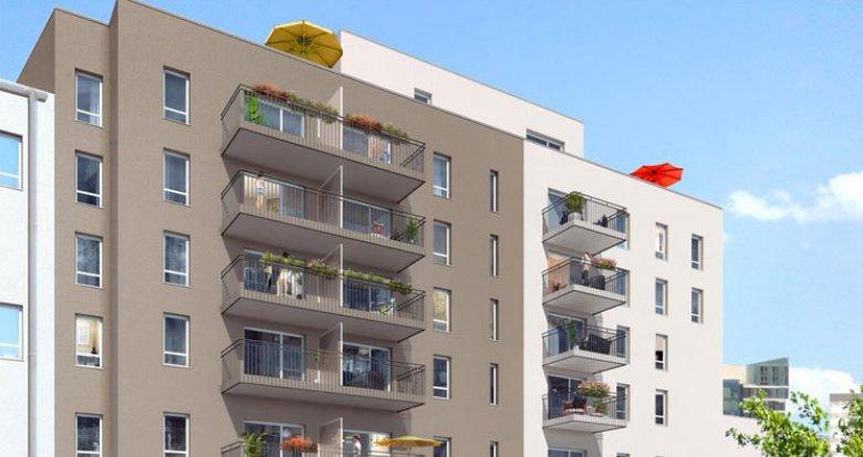 Achat / Vente programme immobilier neuf Lyon 7 proche tramway T2 Jean Macé (69007) - Réf. 584