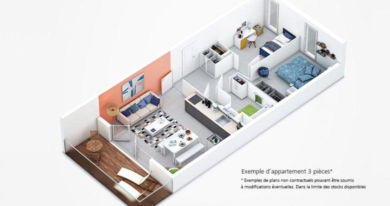 Achat / Vente programme immobilier neuf Lyon 7 quartier des Girondins (69007) - Réf. 401