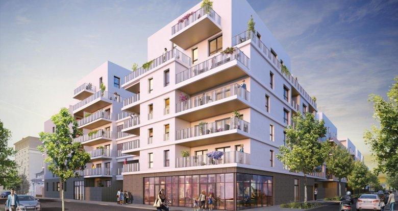 Achat / Vente programme immobilier neuf Lyon 7 secteur Jean Jaurès proche métro (69007) - Réf. 1985