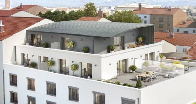 Achat / Vente programme immobilier neuf Lyon 7ème proche parc Sergent Blandan (69007) - Réf. 1067