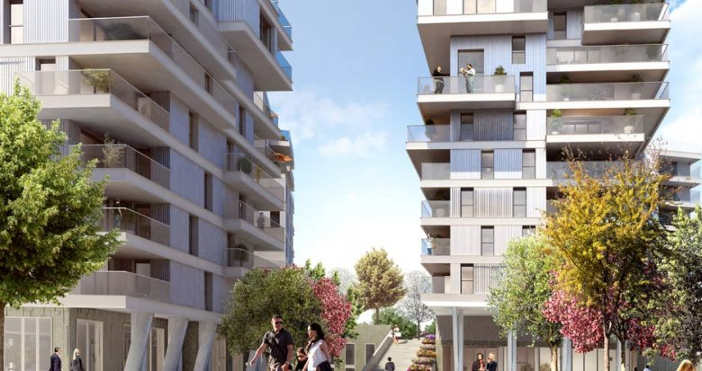 Achat / Vente programme immobilier neuf Lyon 7ème ZAC des Girondins (69007) - Réf. 795