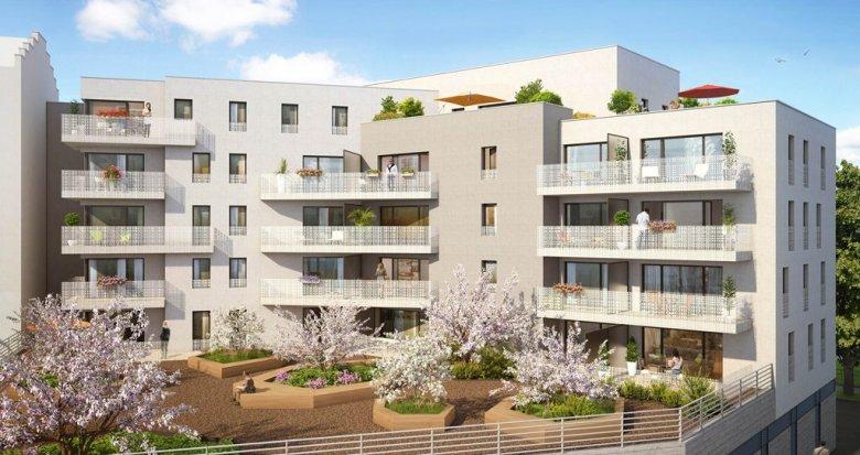 Achat / Vente programme immobilier neuf Lyon 8 place Lebret (69008) - Réf. 1228