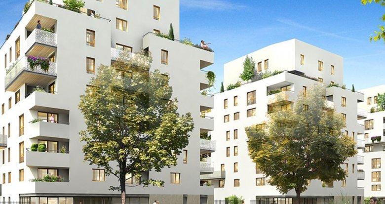 Achat / Vente programme immobilier neuf Lyon 8 proche des transports en commun au cœur d'un parc (69008) - Réf. 1414