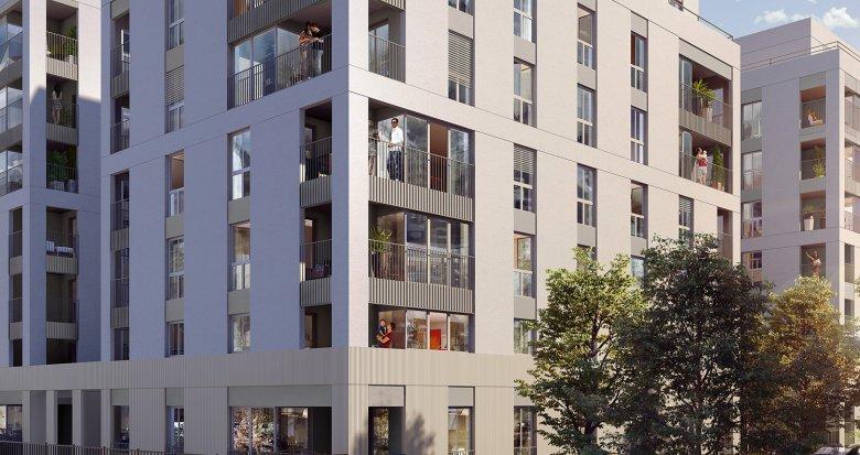 Achat / Vente programme immobilier neuf Lyon 8 proche futur tramway T6 (69008) - Réf. 3223