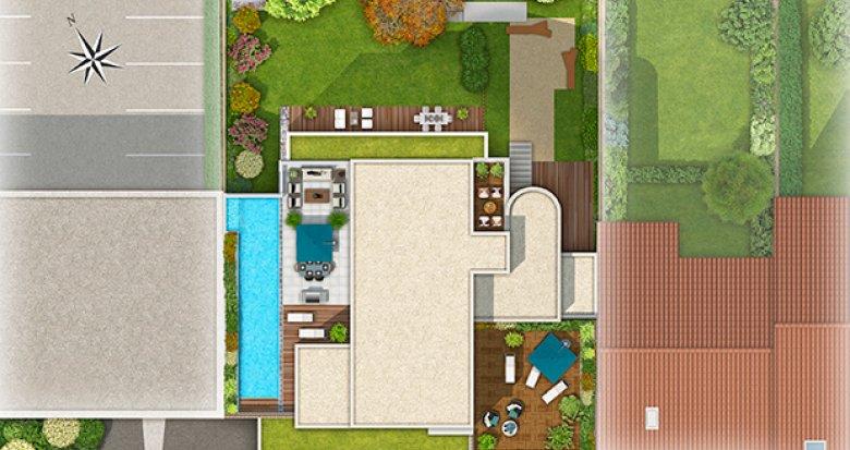 Achat / Vente programme immobilier neuf Lyon 8 quartier Monplaisir (69008) - Réf. 1061