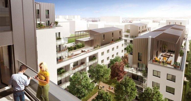 Achat / Vente programme immobilier neuf Lyon 8 quartier résidentiel de Monplaisir (69008) - Réf. 756