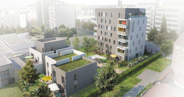 Achat / Vente programme immobilier neuf Lyon 8e proche des transports (69008) - Réf. 1154