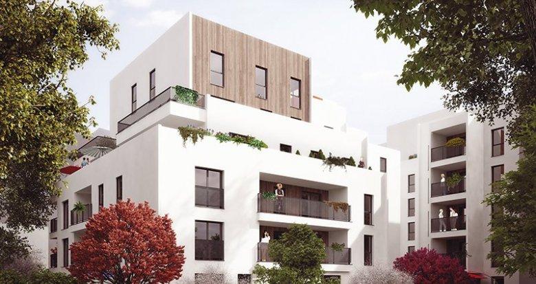 Achat / Vente programme immobilier neuf Lyon 8e proche parc du Clos Layat (69008) - Réf. 319