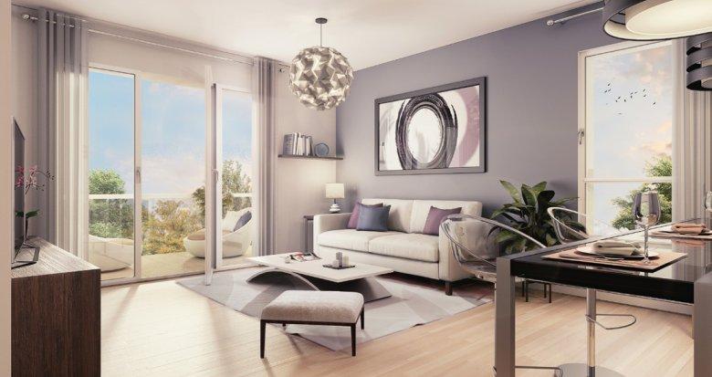 Achat / Vente programme immobilier neuf Lyon 8ème proche parc Clos Layat (69008) - Réf. 2072