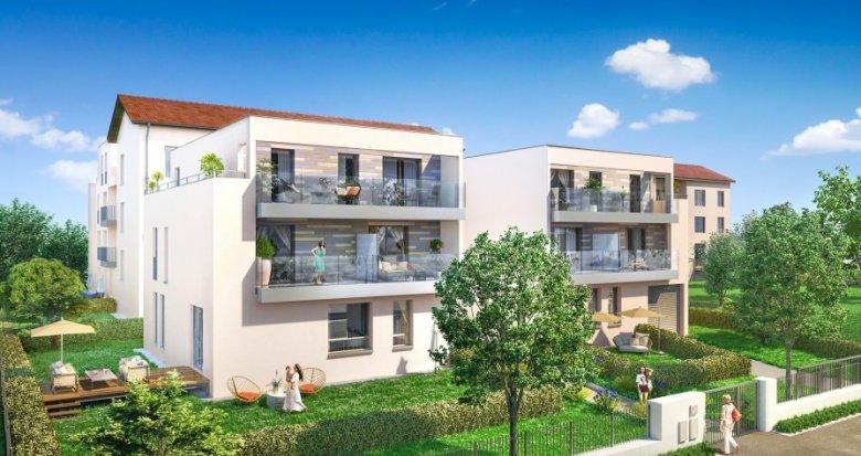 Achat / Vente programme immobilier neuf Lyon 9 proche quais de Saône (69009) - Réf. 713