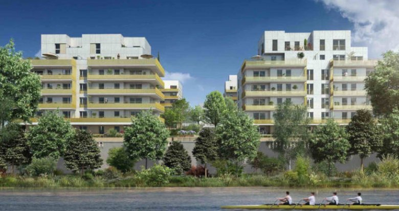 Achat / Vente programme immobilier neuf Lyon 9 proche Saône (69009) - Réf. 3841