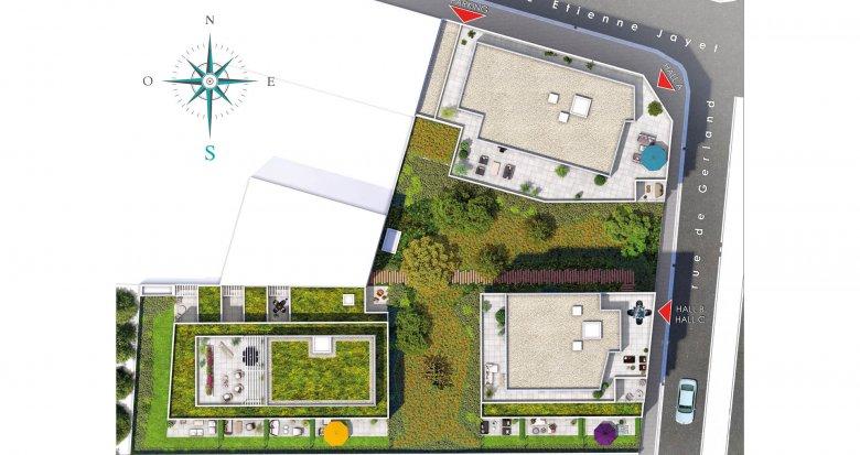 Achat / Vente programme immobilier neuf Lyon quartier Gerland (69007) - Réf. 2238