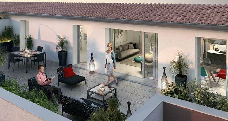 Achat / Vente programme immobilier neuf Meyzieu proche du centre-ville (69330) - Réf. 434