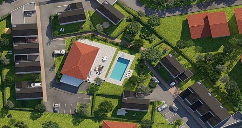 Achat / Vente programme immobilier neuf Montagny proche centre-ville (69700) - Réf. 841
