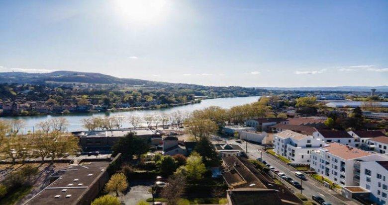 Achat / Vente programme immobilier neuf Neuville-sur-Saône proche du coeur de village (69250) - Réf. 5882