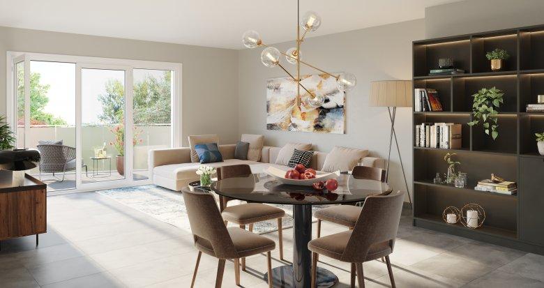 Achat / Vente programme immobilier neuf Neuville-sur-Saône quartier résidentiel au calme (69250) - Réf. 5382