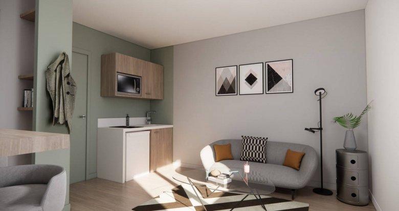 Achat / Vente programme immobilier neuf Pierre-Bénite proche Parc Georges Manillier (69310) - Réf. 6120