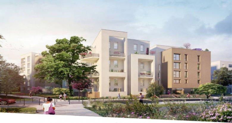 Achat / Vente programme immobilier neuf Rillieux-la-Pape proche centre-ville (69140) - Réf. 4950