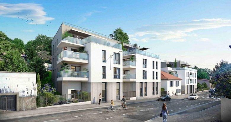Achat / Vente programme immobilier neuf Rillieux-la-Pape proche place Canellas (69140) - Réf. 6038
