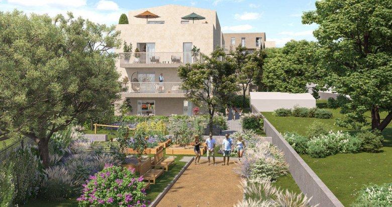 Achat / Vente programme immobilier neuf Rillieux-la-Pape sur la place de Crépieux (69140) - Réf. 6273