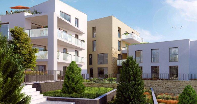 Achat / Vente programme immobilier neuf Saint-Didier-au-Mont-d'Or face au parc du collège Fromente (69370) - Réf. 1942