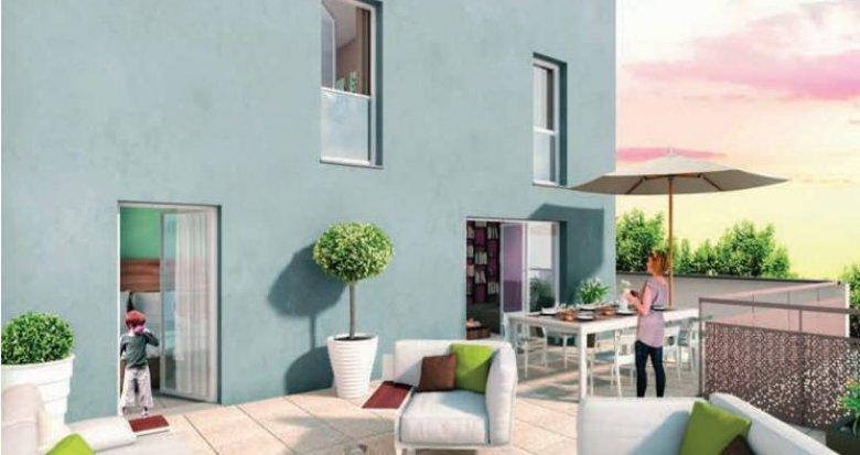 Achat / Vente programme immobilier neuf Saint-Fons proche centre (69190) - Réf. 3399