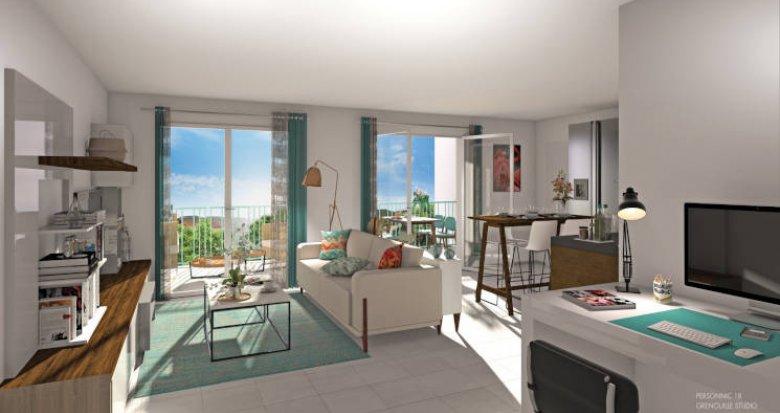 Achat / Vente programme immobilier neuf Saint-Laurent-de-Mure coeur de ville (69720) - Réf. 5978