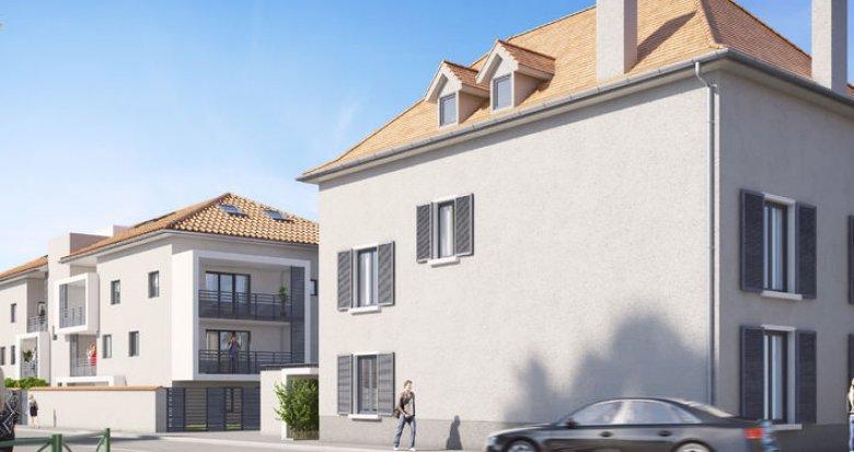 Achat / Vente programme immobilier neuf Saint-Laurent-de-Mure proche des commodités (69720) - Réf. 306
