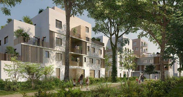 Achat / Vente programme immobilier neuf Saint-Priest à 240 mètres du tramway T2 (69800) - Réf. 3855