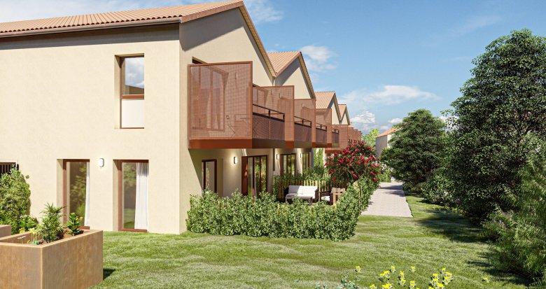Achat / Vente programme immobilier neuf Saint-Priest à deux pas du quartier Le Village (69800) - Réf. 6073