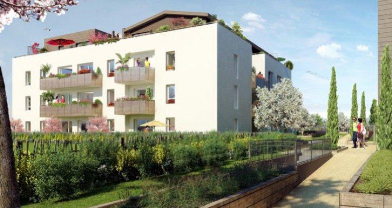 Achat / Vente programme immobilier neuf Saint-Priest centre village (69800) - Réf. 476