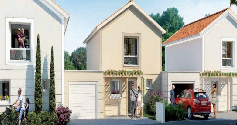 Achat / Vente programme immobilier neuf Saint-Priest cœur quartier Manissieux (69800) - Réf. 3844
