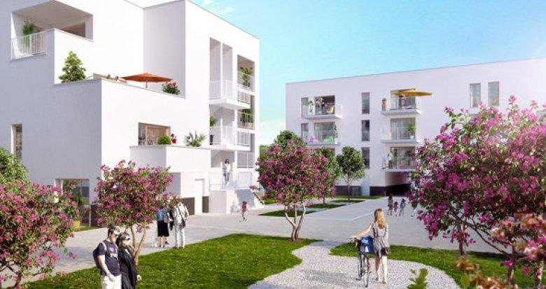 Achat / Vente programme immobilier neuf Saint-Priest entre gare et tramway (69800) - Réf. 1037