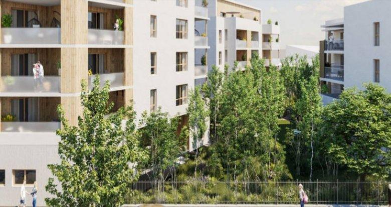 Achat / Vente programme immobilier neuf Saint-Priest proche centre-ville (69800) - Réf. 3556