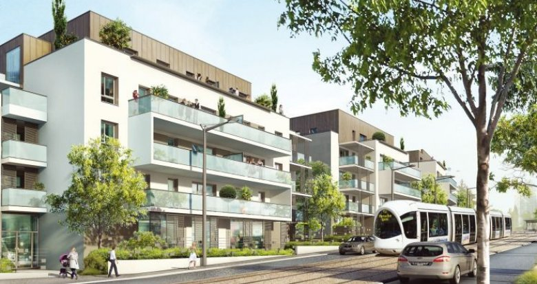 Achat / Vente programme immobilier neuf Saint-Priest proche complexe nautique Jacques Coeur (69800) - Réf. 2943