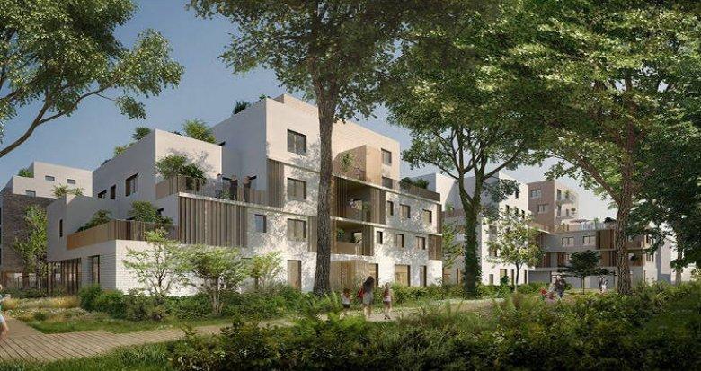 Achat / Vente programme immobilier neuf Saint-Priest proche Hôtel de Ville (69800) - Réf. 3412