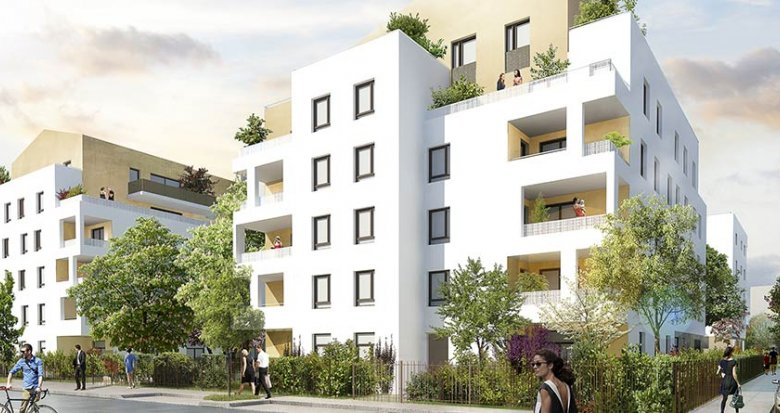 Achat / Vente programme immobilier neuf Saint-Priest proche Lyon (69800) - Réf. 1844