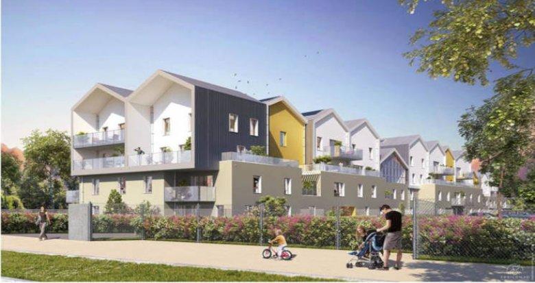 Achat / Vente programme immobilier neuf Saint-Priest proche parc Parilly (69800) - Réf. 2923