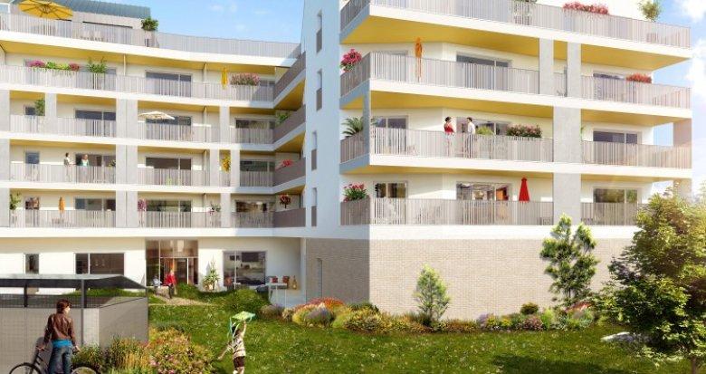 Achat / Vente programme immobilier neuf Saint-Priest proche Porte des Alpes (69800) - Réf. 1454