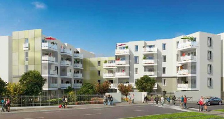 Achat / Vente programme immobilier neuf Saint-Priest proche tramway T2 (69800) - Réf. 423