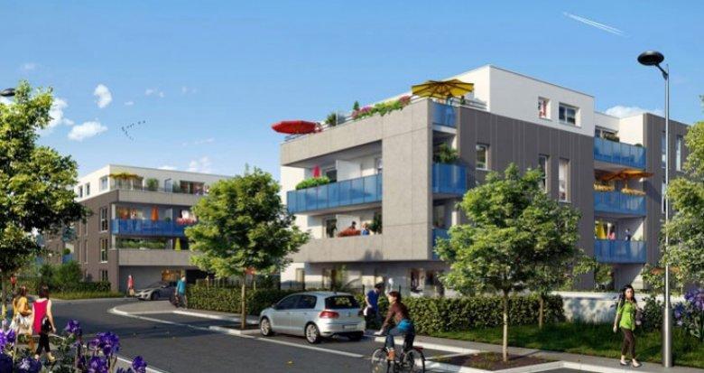 Achat / Vente programme immobilier neuf Saint-Priest quartier neuf (69800) - Réf. 294