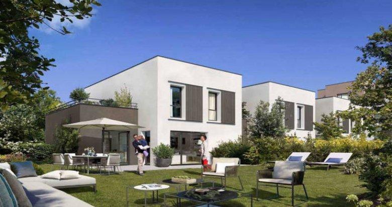 Achat / Vente programme immobilier neuf Sainte-Foy-lès-Lyon à 900m du cœur de ville (69110) - Réf. 5106