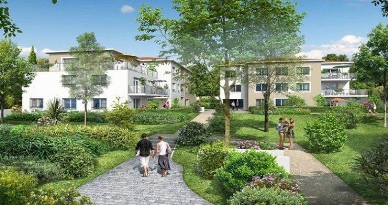 Achat / Vente programme immobilier neuf Sainte-Foy-lès-Lyon au cœur d'un parc arboré à 15 minutes de Lyon (69110) - Réf. 1243