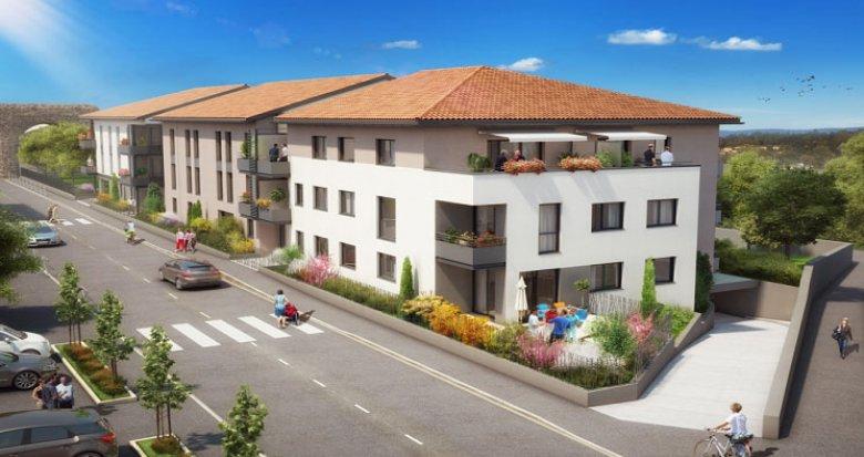 Achat / Vente programme immobilier neuf Sainte-Foy-Lès-Lyon proche Aqueduc de Beaunant (69110) - Réf. 573
