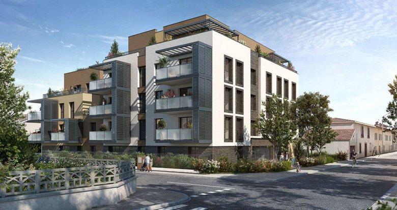 Achat / Vente programme immobilier neuf Sainte-Foy-lès-Lyon proche Champvert Point du Jour (69110) - Réf. 6270