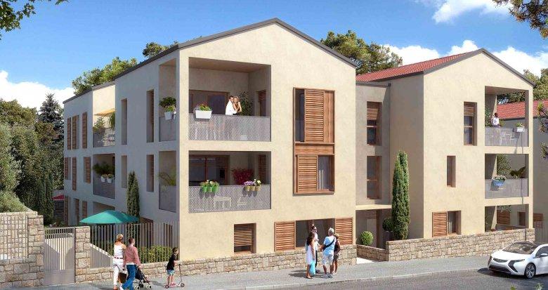 Achat / Vente programme immobilier neuf Sainte-Foy-lès-Lyon proche du centre (69110) - Réf. 1362