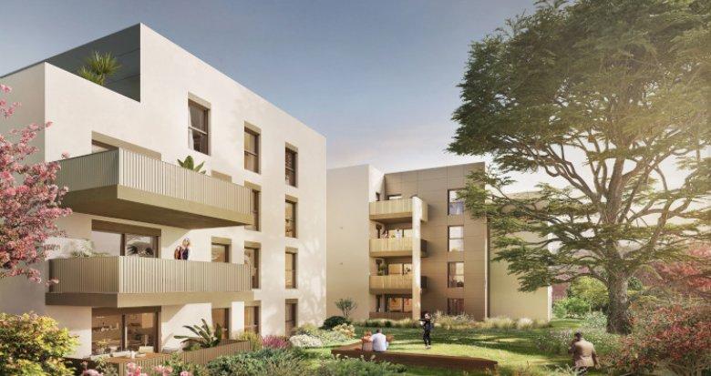 Achat / Vente programme immobilier neuf Sainte-Foy-lès-Lyon quartier résidentiel proche Mairie (69110) - Réf. 5516