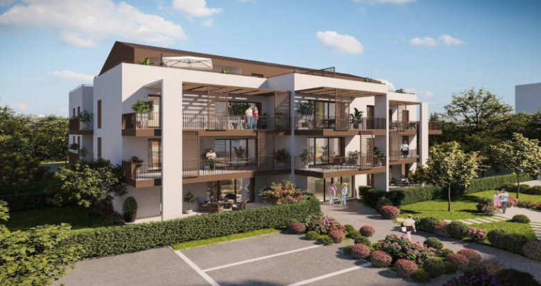 Achat / Vente programme immobilier neuf Sathonay-Camp centre (69580) - Réf. 5763