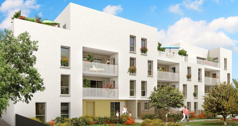 Achat / Vente programme immobilier neuf Sathonay-Camp quartier Castellane (69580) - Réf. 794